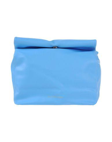 ENTERCOINS レディース ハンドバッグ スカイブルー 紡績繊維