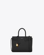 SAINT LAURENT Baby Sac de Jour D CLASSIC Baby SAC DE JOUR BAG IN Black LEATHER f