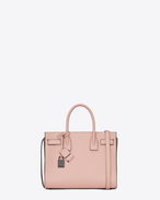 Classic Baby SAC DE JOUR Bag in Pale Blush and Black Leather