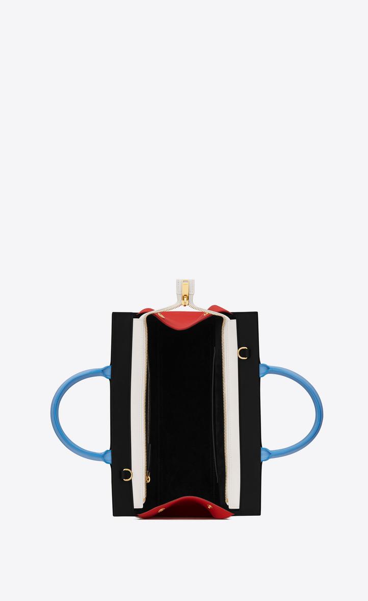 b8624664993b Saint Laurent Small CABAS RIVE GAUCHE Bag In Black