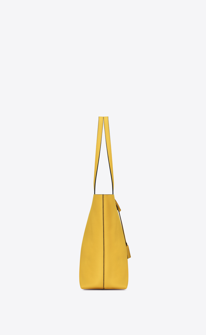 c3f344b6fda1 Zoom  Large SHOPPING SAINT LAURENT tote bag in Yellow and Black Leather