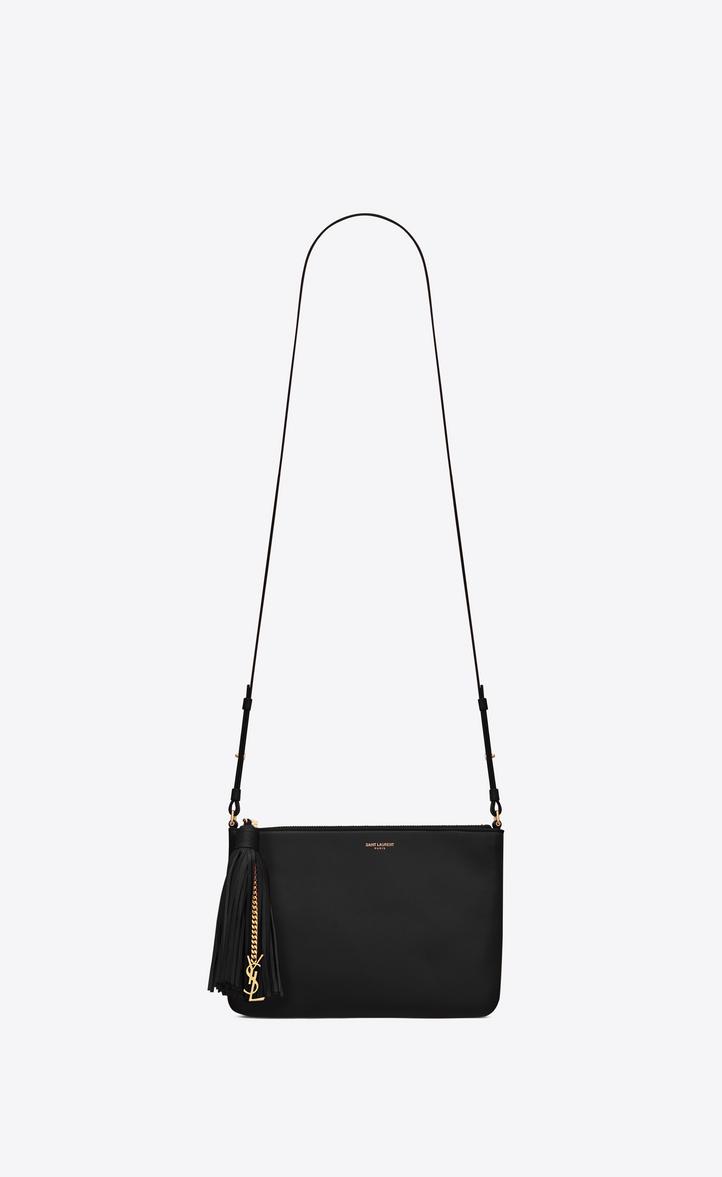 35c1784137 Saint Laurent Small MONOGRAM SAINT LAURENT Crossbody Bag In Black ...
