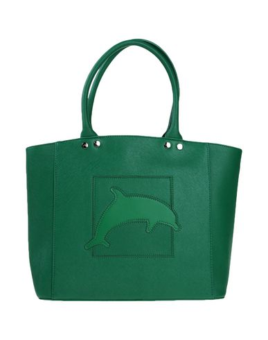 DAVIDELFIN レディース ハンドバッグ グリーン 紡績繊維