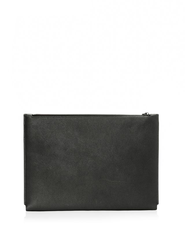 LANVIN Clutch in natural grain calfskin Clutch U r