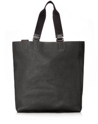 LANVIN Shopper bag in natural grain calfskin Tote U f