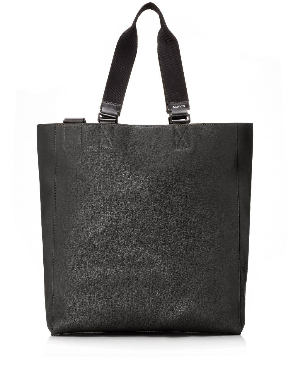 Shopper bag in natural grain calfskin - Lanvin