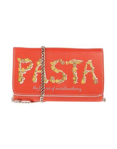 AZZURRA GRONCHI + AN ITALIAN THEORY レディース ハンドバッグ レッド 紡績繊維