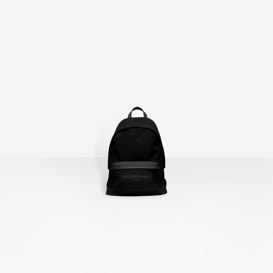 BALENCIAGA Navy Backpack Navy Bag U f