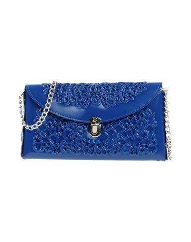 M? DUSA レディース ハンドバッグ ブライトブルー 紡績繊維