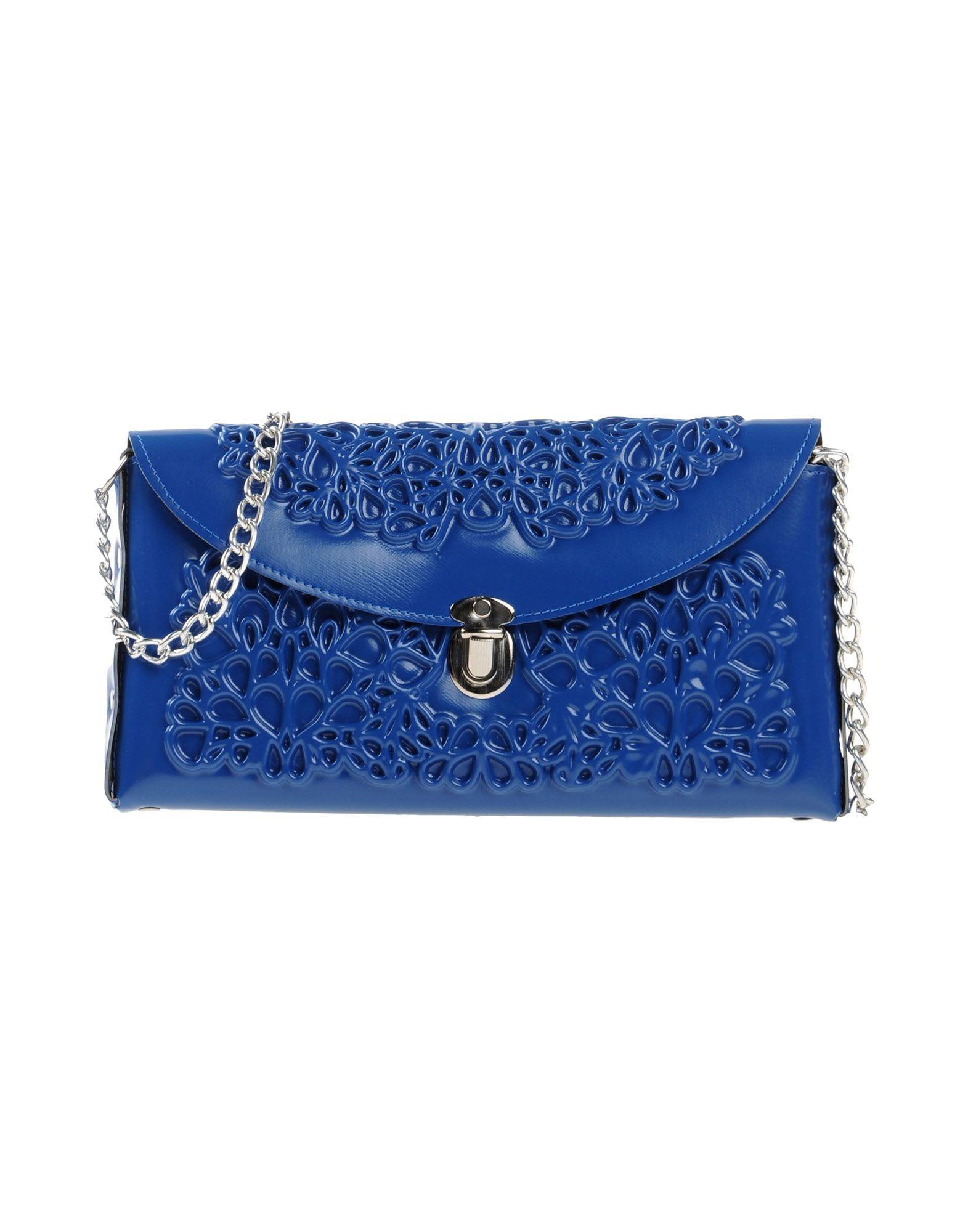 《送料無料》M? DUSA レディース ハンドバッグ ブライトブルー 紡績繊維