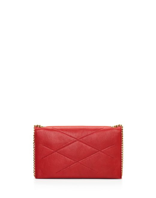 lanvin sugar wallet on chain in lambskin women