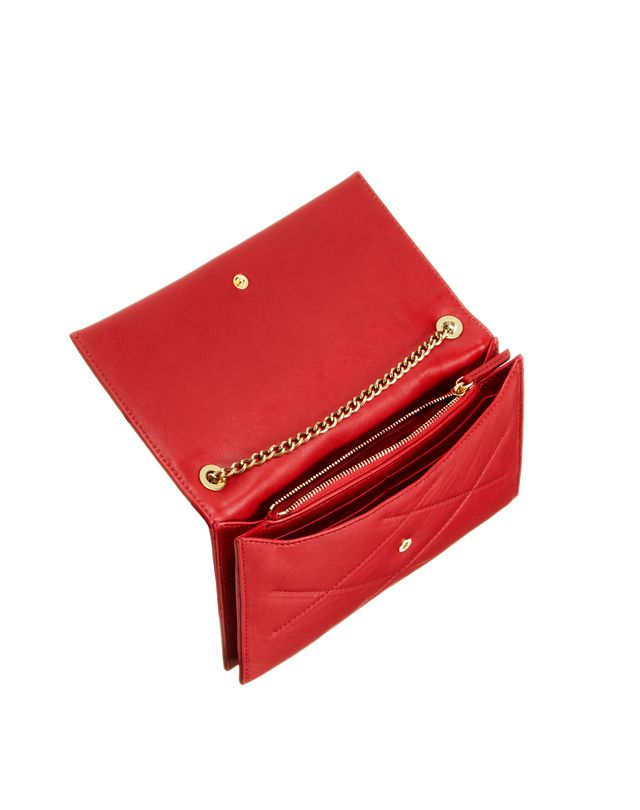 LANVIN Sugar wallet on chain in lambskin Shoulder bag D d