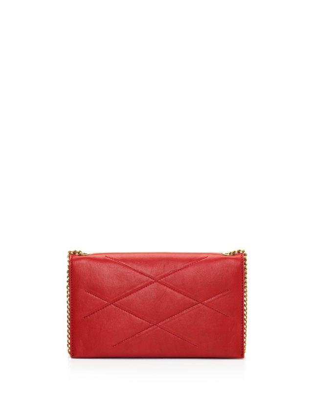 LANVIN Sugar wallet on chain in lambskin Shoulder bag D r