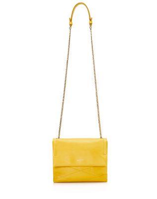 LANVIN Mini Sugar bag in lambskin Shoulder bag D f