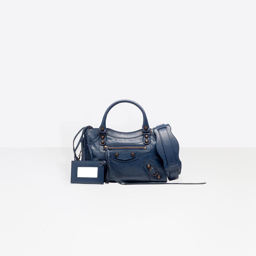BALENCIAGA Classic Mini City Classic City Handbag D f