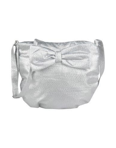 HUCKLEBONES ガールズ 3-8 歳 肩掛けバッグ グレー ナイロン 60% / 金属化ポリエステル 40%