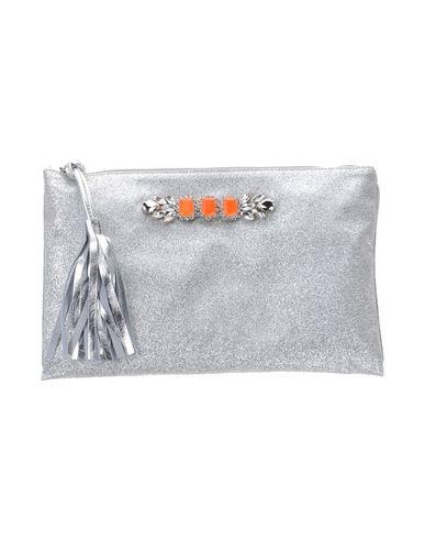 LISA C BIJOUX レディース ハンドバッグ シルバー 紡績繊維