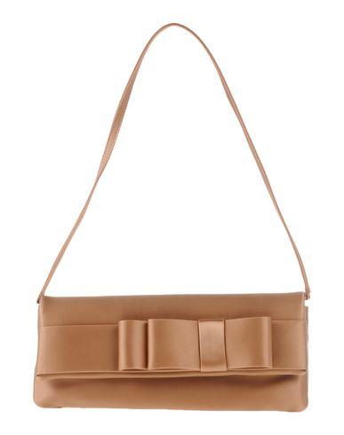 TOSCA BLU レディース ハンドバッグ キャメル 紡績繊維