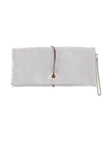 CHIARA P レディース ハンドバッグ ライトグレー 紡績繊維