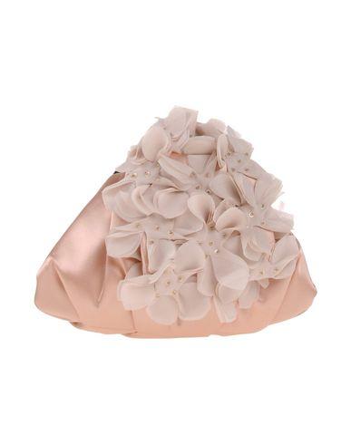 CHIARA P レディース ハンドバッグ サンド 紡績繊維