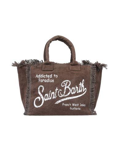 MC2 SAINT BARTH レディース ハンドバッグ ダークブラウン 紡績繊維