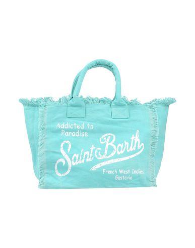 MC2 SAINT BARTH レディース ハンドバッグ ターコイズブルー 紡績繊維