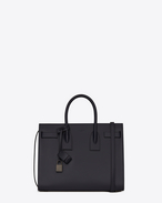 SAINT LAURENT Sac De Jour Small D Classic Small SAC DE JOUR Bag in Navy Blue Leather f