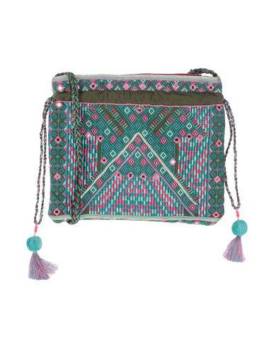 STAR MELA レディース ハンドバッグ ターコイズブルー 紡績繊維