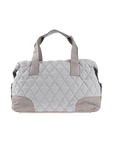 MARC CAIN SPORTS レディース 旅行バッグ グレー 紡績繊維 / 革