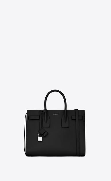 SAINT LAURENT Sac De Jour Small D Classic Small Sac De Jour bag in Black Grained Leather v4