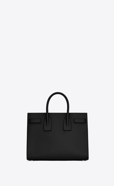 SAINT LAURENT Sac De Jour Small D Classic Small Sac De Jour bag in Black Grained Leather b_V4