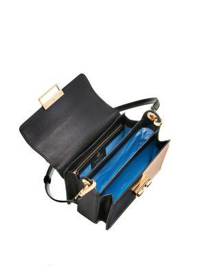 LANVIN Small box Jiji by Lanvin bag in smooth bicolor calfskin Shoulder bag D d