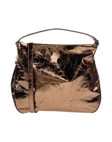 BLUGIRL BLUMARINE レディース ハンドバッグ ブロンズ 紡績繊維