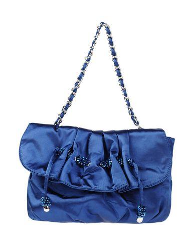 TOSCA BLU レディース ハンドバッグ ブライトブルー シルク 100%