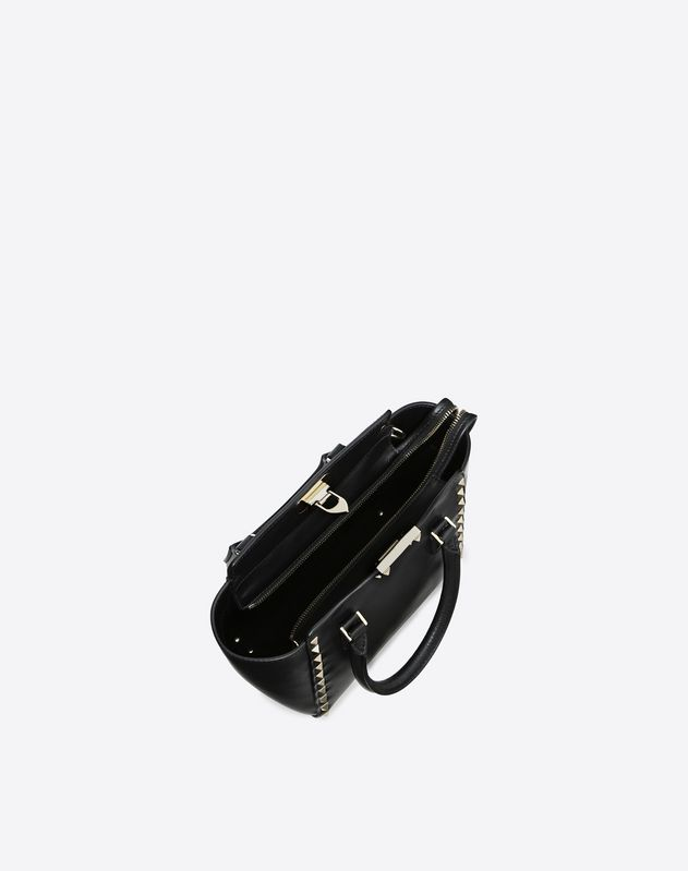 Mini Rockstud top-handle bag