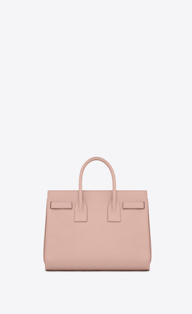 SAINT LAURENT Sac De Jour Small D CLASSIC SMALL SAC DE JOUR BAG IN Pale Blush LEATHER b_V4