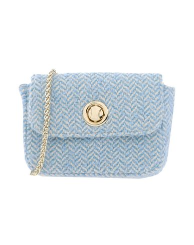 KASSIOPEA レディース ハンドバッグ スカイブルー 紡績繊維