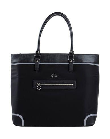 DAVIDELFIN レディース ハンドバッグ ブラック 革 / 紡績繊維