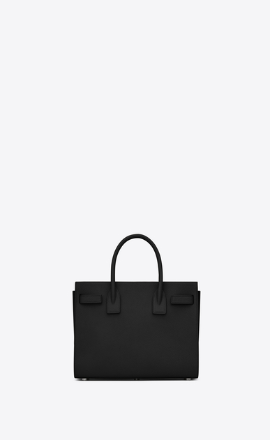 SAINT LAURENT Baby Sac de Jour D classic baby sac de jour bag in in black grained leather b_V4