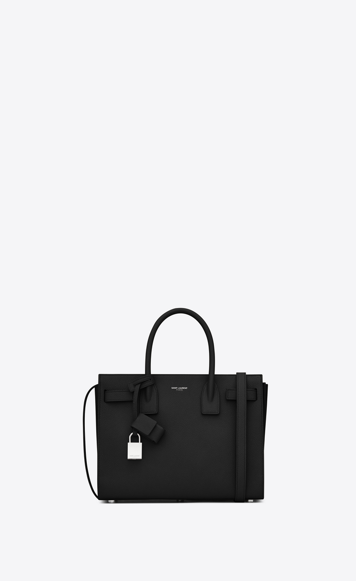 Classic Sac De Jour Baby In Grained Leather Front View