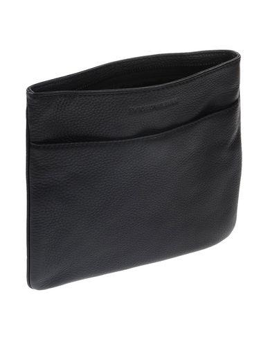 Фото 2 - Сумку через плечо черного цвета