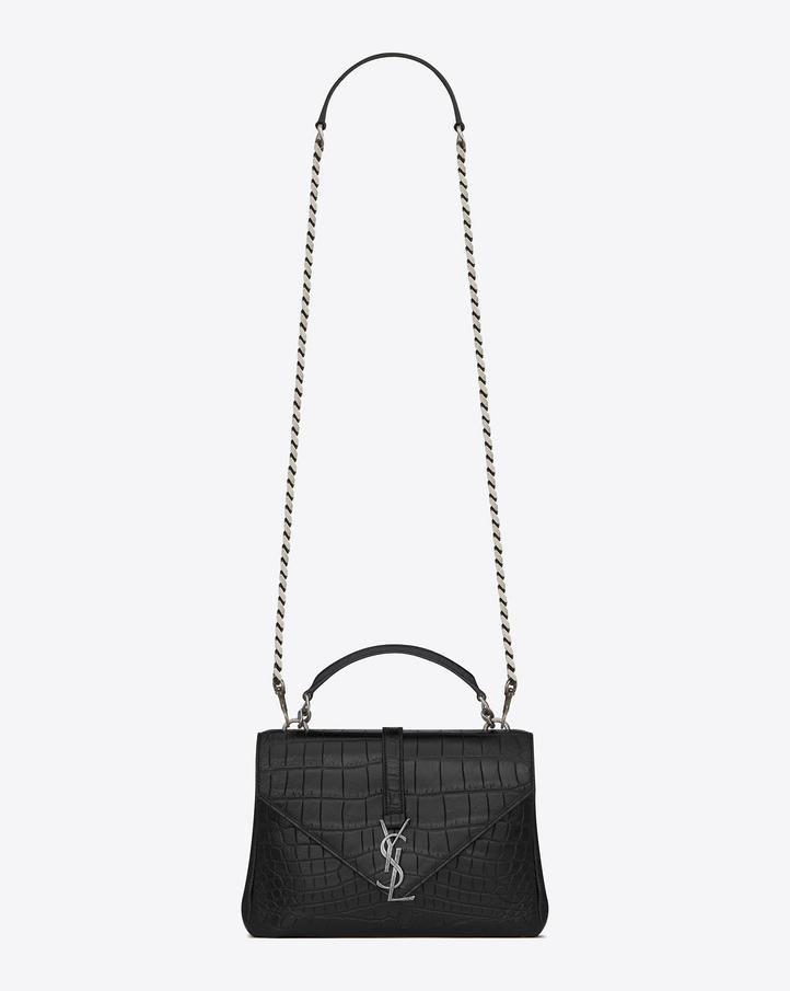 sac yves saint laurent bleu. Black Bedroom Furniture Sets. Home Design Ideas