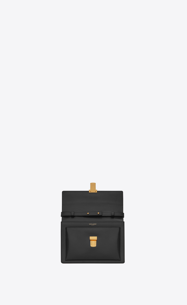 b878fb8ae24a Saint Laurent Medium HIGH SCHOOL SAINT LAURENT Satchel In Black ...
