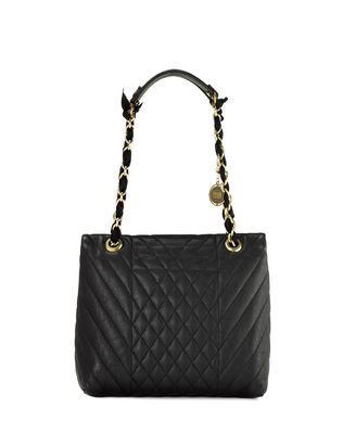 LANVIN HAPPY CLASSIC MEDIUM BAG IN LAMBSKIN Shoulder bag D r