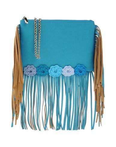 KETTLEBELL JEWELS レディース ハンドバッグ ターコイズブルー 紡績繊維