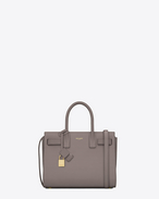 SAINT LAURENT Baby Sac de Jour D classic baby sac de jour bag in fog leather f