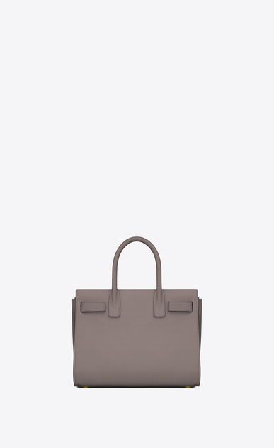 SAINT LAURENT Baby Sac de Jour Woman baby sac de jour bag in fog leather b_V4