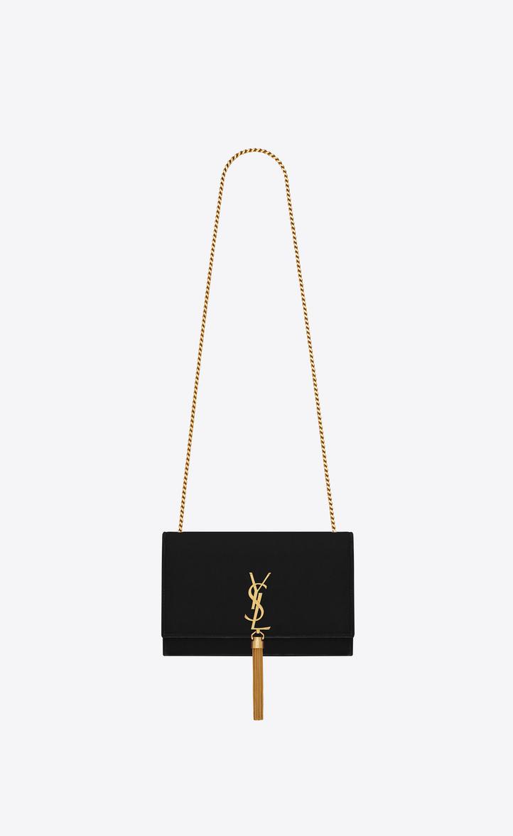 69278fdc29 Saint Laurent Medium Kate Monogram Saint Laurent Tassel Chain Bag ...
