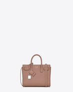 SAINT LAURENT Nano Sac de Jour D Classic Nano SAC DE JOUR Bag in Light Dusty Rose Grained Leather f