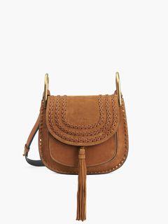 1d628ad45 Hudson Shoulder Bag | Chloé Official Website | 3S1219-H67-BDU